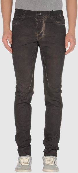 Drkshdw By Rick Owens Casual Trouser in Gray for Men (steel) - Lyst