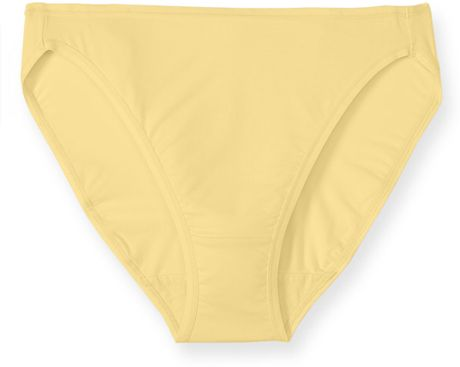 Felina Sublime High Cut Briefs in Yellow (buttercup) - Lyst