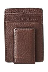 Fossil Mag Card Holder - Lyst