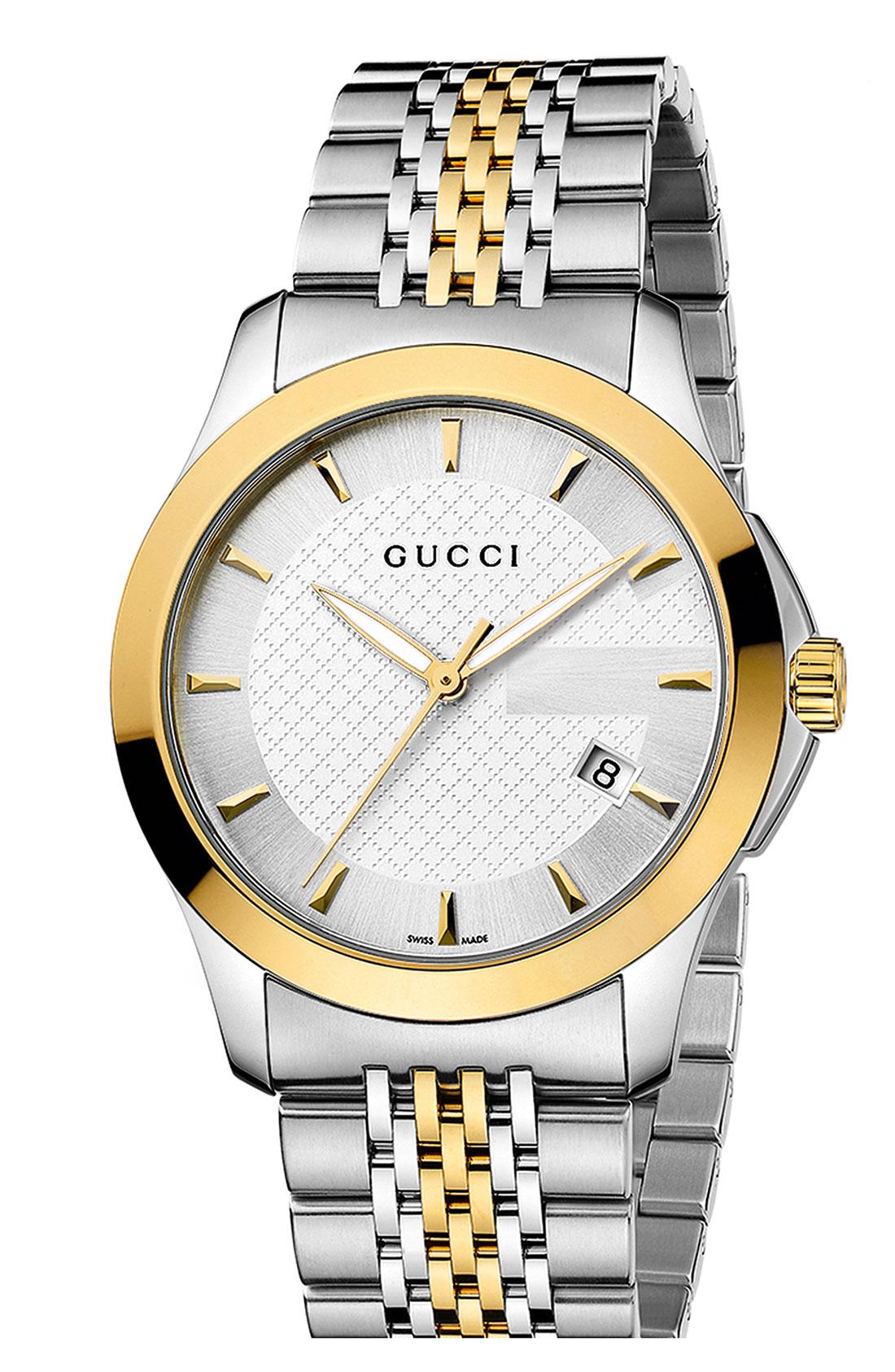 gucci g timeless medium bracelet in gold for