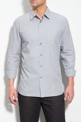 John Varvatos Long Sleeve Sport Shirt - Lyst