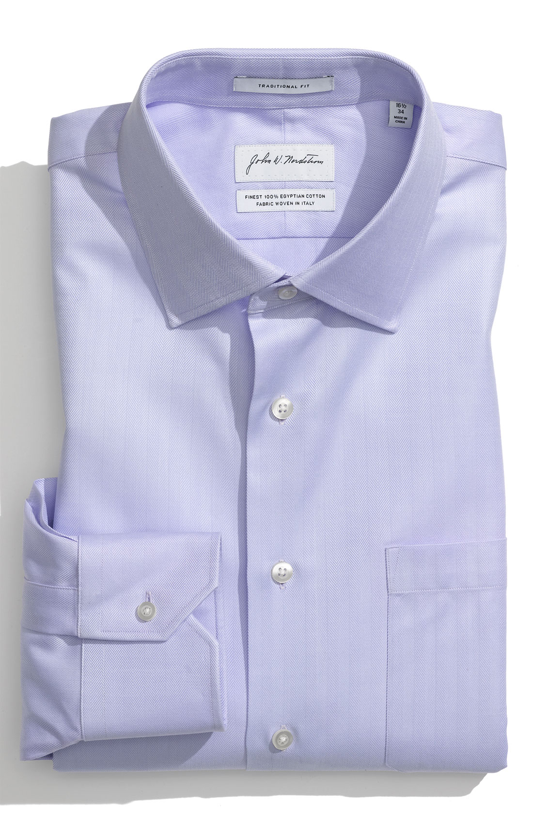 John w nordstrom traditional fit egyptian cotton for Mens egyptian cotton dress shirts