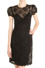 L'Agence Lace Dress - Lyst