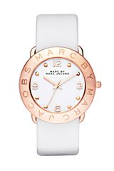 Marc By Marc Jacobs Amy Leather Strap Watch - Lyst