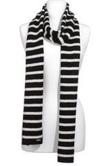 Michael by Michael Kors Stripe Knit Scarf - Lyst