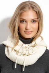 Michael by Michael Kors Ribbed Cowl - Lyst