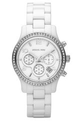 Michael by Michael Kors Runway Ceramic Small Watch - Lyst