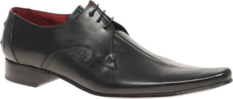 Jeffery West Centre Seam Gibson Shoes in Black for Men - Lyst