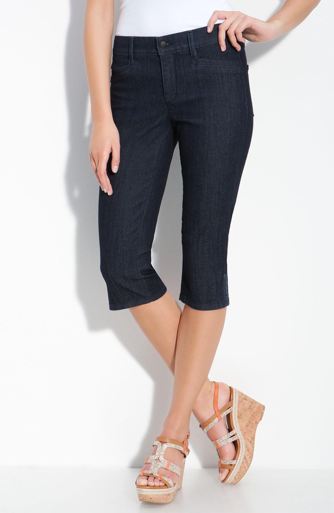 not your daughter 39 s jeans joan cropped capri dark enzyme. Black Bedroom Furniture Sets. Home Design Ideas