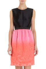 Prabal Gurung Sleeveless Empire Dress - Lyst