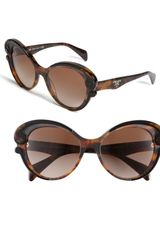 Prada Baroque Cats Eye Sunglasses - Lyst