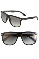 Ray-Ban Boyfriend Flat Top Frame Sunglasses - Lyst