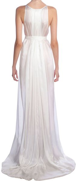 Rick Owens Grecian Gown in Blue - Lyst