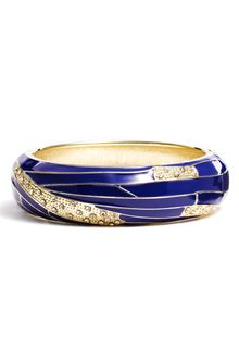 Sequin Medium Insect Wing Enamel Bangle - Lyst