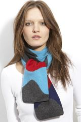Tarnish Waves Tube Scarf - Lyst