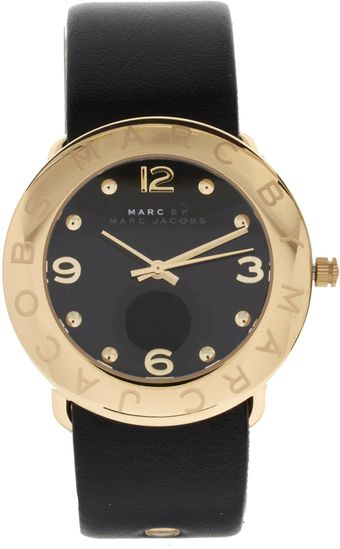 Marc By Marc Jacobs Leather Watch - Lyst