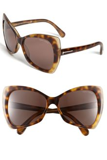 Tom Ford Nico Retro Inspired Frame Sunglasses - Lyst