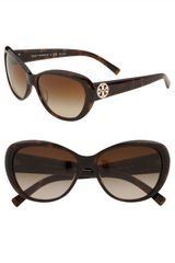 Tory Burch Cats Eye Sunglasses - Lyst