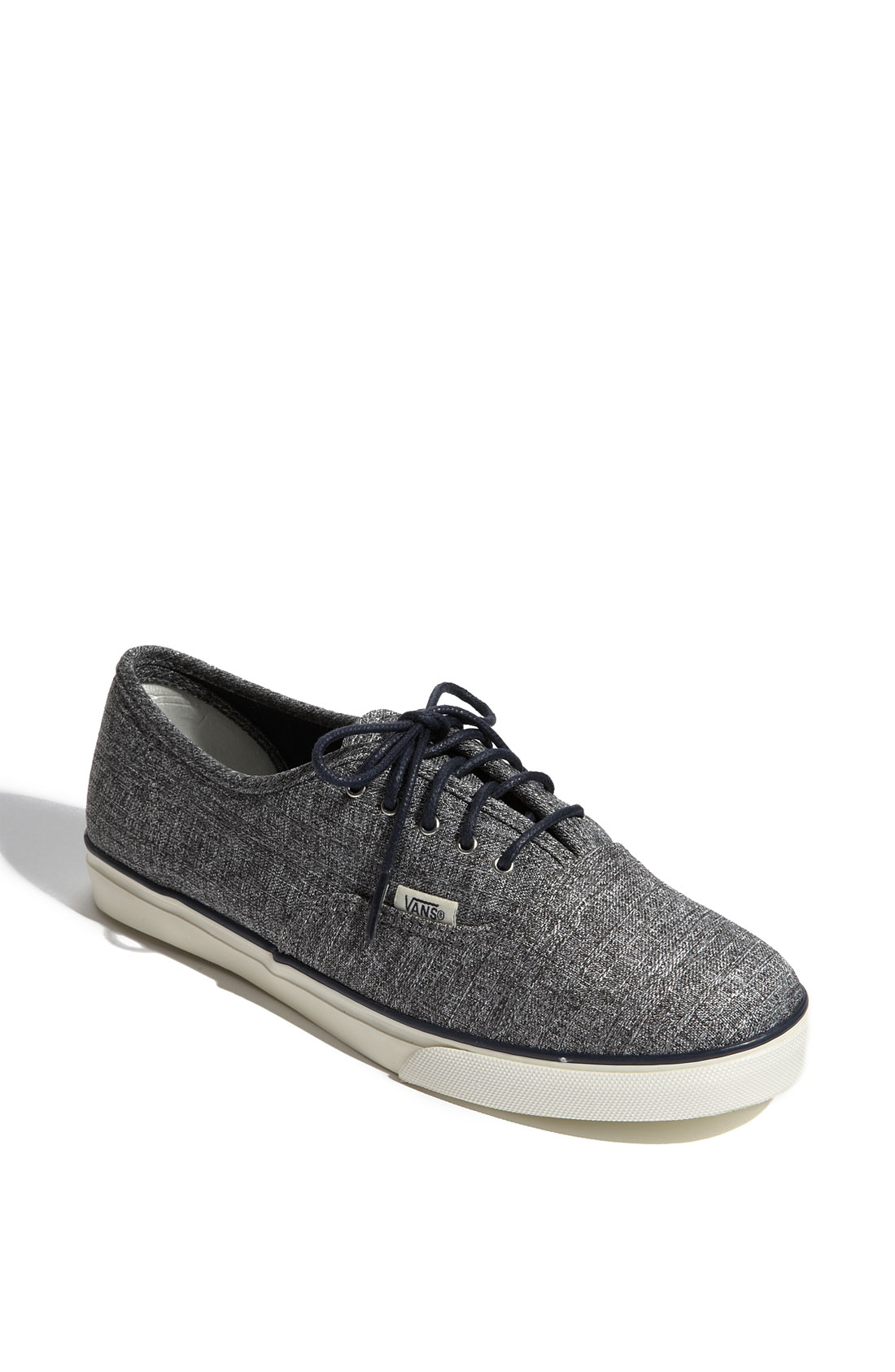 vans authentic lo pro ca sneaker in gray grey lyst. Black Bedroom Furniture Sets. Home Design Ideas