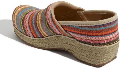Women Multicolor Jute Shoes Clogs