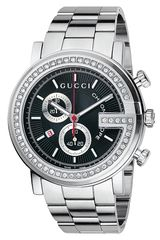 Gucci G Chrono Collection Diamond Watch - Lyst