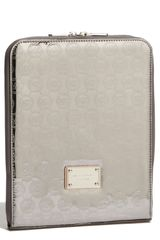 Michael by Michael Kors Mirror Metallic Ipad Case - Lyst