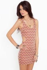 Nasty Gal Roma Dress - Lyst