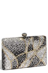 Natasha Couture Large Square Rhinestone Clutch - Lyst