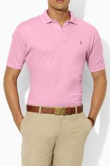 Polo Ralph Lauren Mesh Knit Polo - Lyst