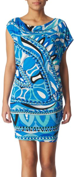 Pucci Printed Dress - Lyst