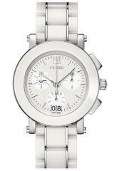 Fendi Large Ceramic Chronograph Watch - Lyst