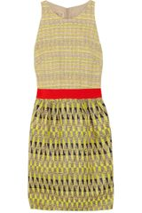 Giambattista Valli Patterned Tweed Dress - Lyst