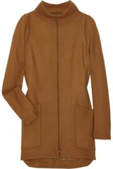 Jil Sander Big Band Wool Coat - Lyst