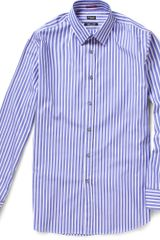 Paul Smith Striped Cotton Shirt - Lyst