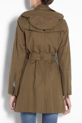 Burberry Brit Khaki Stowamby Jacket in Khaki - Lyst