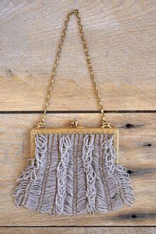 Free People Vintage Evening Beaded Bag - Lyst