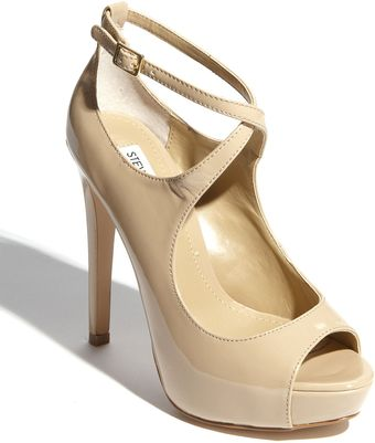 Steve Madden Womens Hottness Open-toe Pump - Lyst