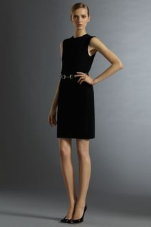Gucci Horsebit-belt Sheath Dress - Lyst