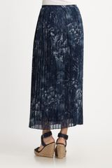 Michael By Michael Kors Skirt in Blue (indigo) - Lyst