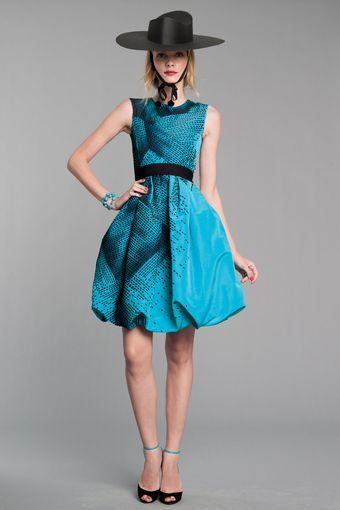 Oscar de la Renta Bubble Dress - Lyst