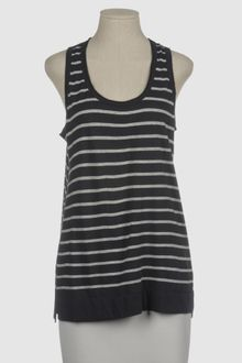 Vince Sleeveless T Shirt - Lyst