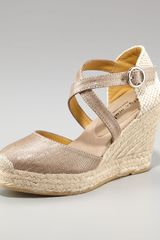 Bettye Muller Close-toe Espadrille - Lyst
