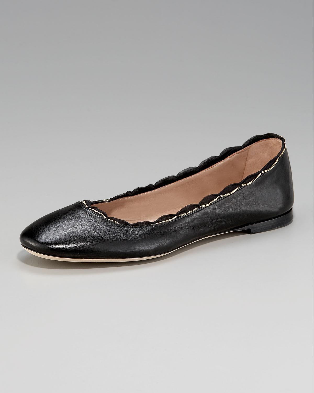 Chloé Black Nappa Classic Ballerina Flats P83YOzkVj2