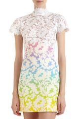 Christopher Kane Empire Mini Dress - Lyst