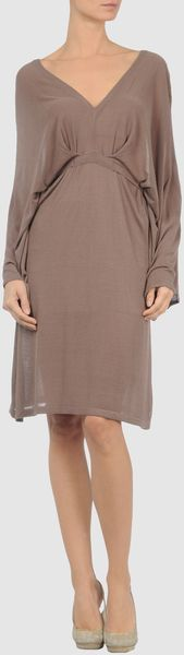 Compagnia Italiana Short Dress - Lyst