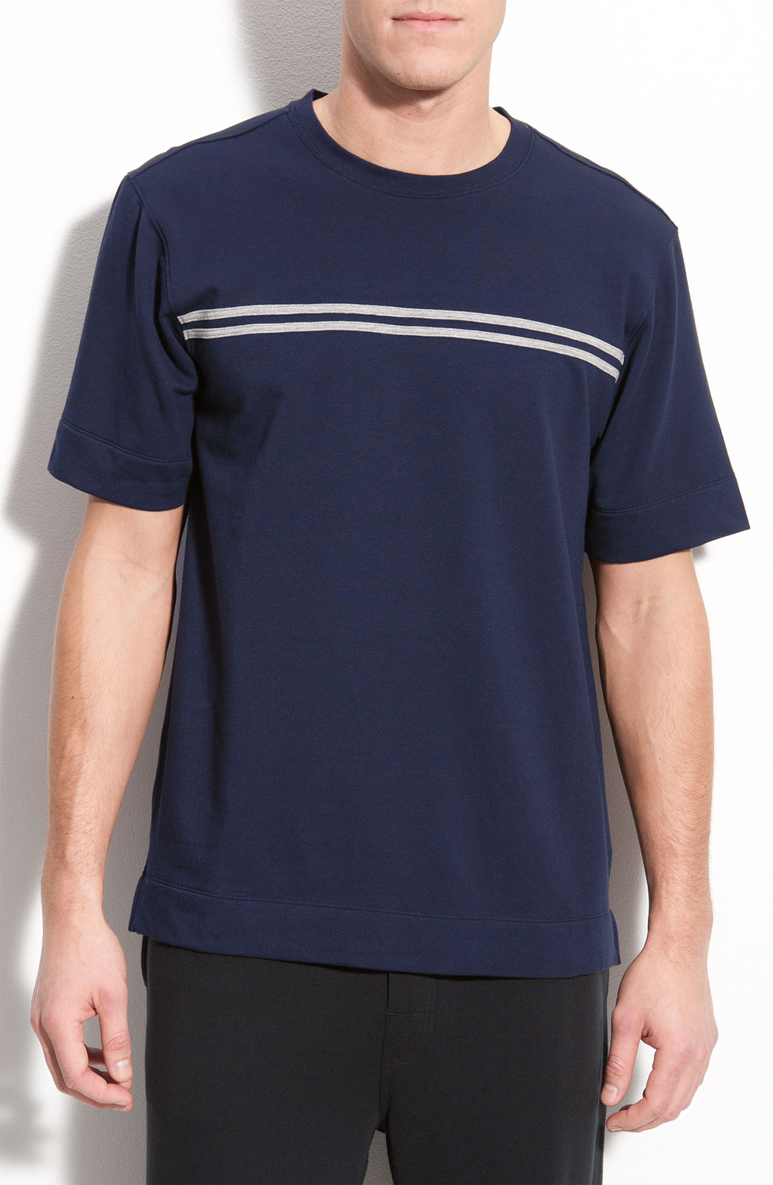Coopers by jockey crewneck t shirt in blue for men navy for Jockey t shirts sale