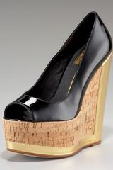 Dolce Vita Patent High-wedge Pump - Lyst