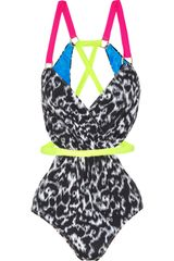 Matthew Williamson Leopard-print Swimsuit - Lyst