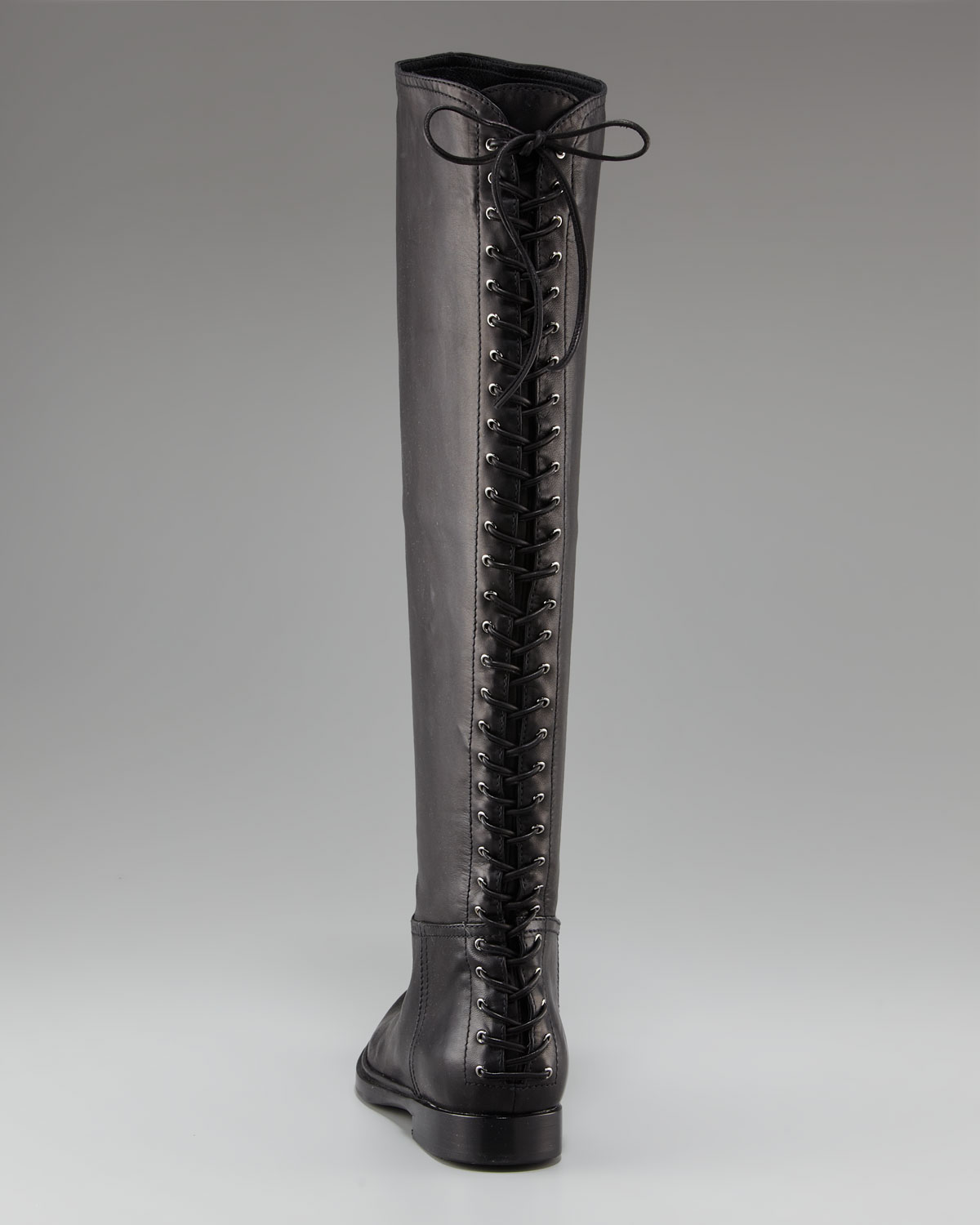 Back lace up boots - Gallery