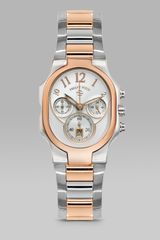 Philip Stein Classic Large Two-tone Chronograph Watch On Interchangeable Two-tone Stainless Steel Bracelet - Lyst